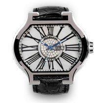 DeLaCour City Cadet 1 Romano Stainless Steel MOP Dial