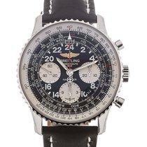 Breitling Navitimer Cosmonaute 43 Chronograph Black Dial