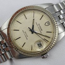 Tudor Prince Oysterdate - 75204 - Linen Dial - aus 1984