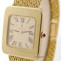 Corum Vintage Mens 18K Yellow Gold Bracelet Watch