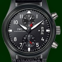 IWC Pilot Top Gun Chronograph 46mm Ceramic Titanium Box&Pa...
