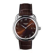 Hermès Arceau Quartz GM 38mm Midsize Watch Ref AR5.710.435/MHA