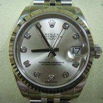 Rolex Datejust, Ref.178274 - silber Diamant Zifferblatt/Jubile...