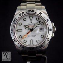 ロレックス (Rolex) Explorer II 42mm Orange Hands White Dial 216570
