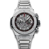Hublot Big Bang Unico Mat Black Skeleton Dial Chronograph...