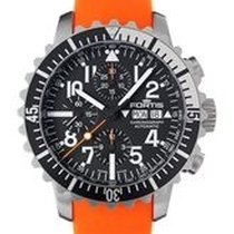 Fortis Aquatis Marinemaster Chrono Swiss Auto Watch 200m Wr...