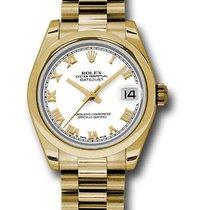 롤렉스 (Rolex) Unworn 178248 Mid Size Yellow Gold Datejust -...