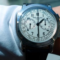 Πατέκ Φιλίπ (Patek Philippe) Classic Chronograph White Gold -...