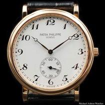 Patek Philippe Ref# 5022 Calatrava, Rose Gold, Breguet Numerals