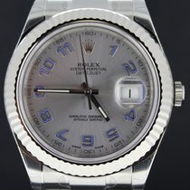 Rolex Datejust II Steel Arabic Rhodium Dial,Full Set 116334