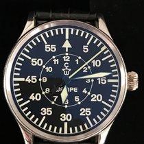 Wempe Aviator Fliegeruhr 925 Silver Silber Full Set