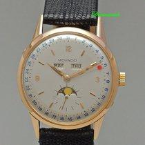 Movado Triple Calendar mit Mondphase 18k /750 Rotgold