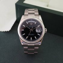 Rolex Day-Date Ref. 118209 Black Glossy Dial