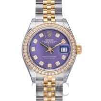 Rolex Lady Datejust Lavender Steel/18k Yellow Gold Dia 28mm -...