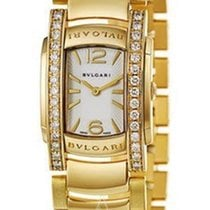 Bulgari AA31WGD1G Assioma Ladies 32mm Quartz in Yellow Gold...