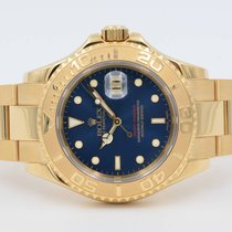 Rolex Yacht-Master Blue Gold Full Set