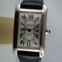 Cartier Tank Americaine XL White Gold 18Kt