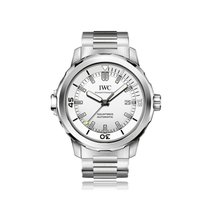 IWC Schaffhausen Aquatimer Silver Steel Automatic Mens Watch...
