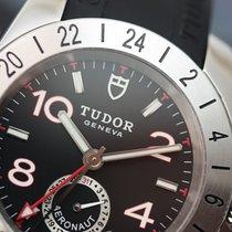 Tudor Aeronaut GMT 41mm Black Arabic Steel on Rubber Automatic