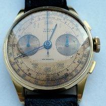 Chronographe Suisse Cie Titus Chronographe Suisse 18k Gold...