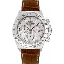 Rolex Cosmograph Daytona 116519 116519-MOPDBR White Mother Of...