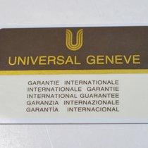Universal Genève compax - aerocompax - space compax - tri compax