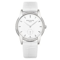 Patek Philippe 7122/200G-001 White Gold Ladies Calatrava 33mm...