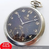 Silvana Pocket Watch black dial breguet numbers Milan Stefan