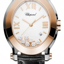 ショパール (Chopard) Happy Sport Oval Quartz 278546-6001