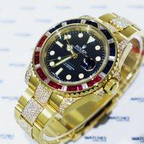 Rolex Oyster Perpetual GMT Master II Sapphire, Rubie Diamonds...
