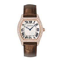 Cartier Tortue Manual Mens Watch Ref WA503951