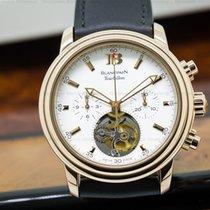 Blancpain 2188F-3618-53 Leman Tourbillon Chronograph 18K Rose...