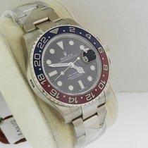 Rolex GMT Master II 116719 BLRO Red Blue Ceramic Bezel 18K...