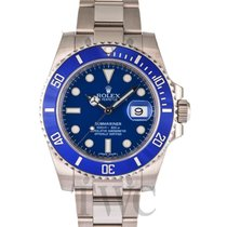 Rolex Submariner Blue/18k white gold Ø40mm - 116619LB