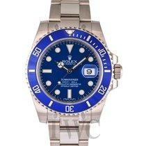 롤렉스 (Rolex) Submariner Blue/18k white gold Ø40mm - 116619LB