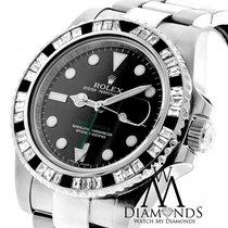 Ρολεξ (Rolex) Gmt Master Ii 116710ln Black Dial & Baguette...