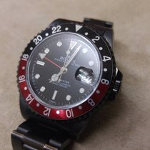 Rolex GMT-Master - Coke - BLACK PVD - Watch + Service Official