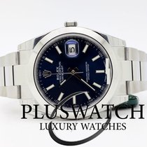 Rolex Datejust Oyster Perpetual 41mm Blue Dial