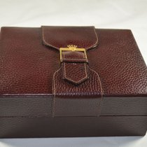 Rolex Holz Box Rar Uhrenbox Watch Box Case Rot Ref. 71.00.03