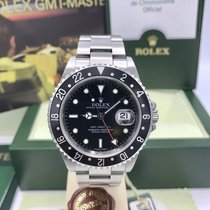 Rolex GMT-Master II 16710 Error Dial Unpolished FULL SET Papers Z