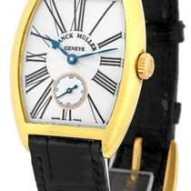 "Franck Muller Medium Size 18K Yellow Gold  ""Cintree Curvex..."