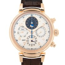 IWC Da Vinci 18k Rose Gold White Automatic IW392101