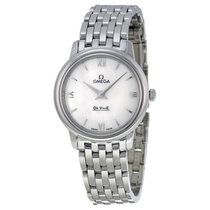 Omega De Ville Prestige White MOP Dial Ladies Watch 424.10.27....