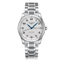 Longines Master Automatic Stainless Steel Silver Dial Mens...