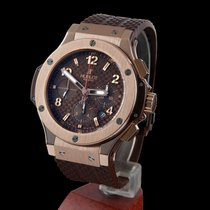Hublot big bang chocolate rose gold 44mm