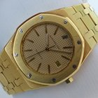 Audemars Piguet Royal Oak Automatic 35 mm - Gold an Goldband...
