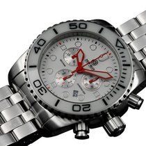 Deep Blue Sea Ram 500 Chrono Diving Watch Swiss Quartz...