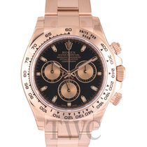 롤렉스 (Rolex) Daytona Black/18k rose gold Ø40mm - 116505
