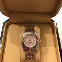 브라이틀링 (Breitling) Callistino Stahl/Gold Deutsche Uhr