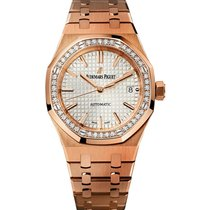 Audemars Piguet Royal Oak Self Winding  37mm Rose Gold Watch